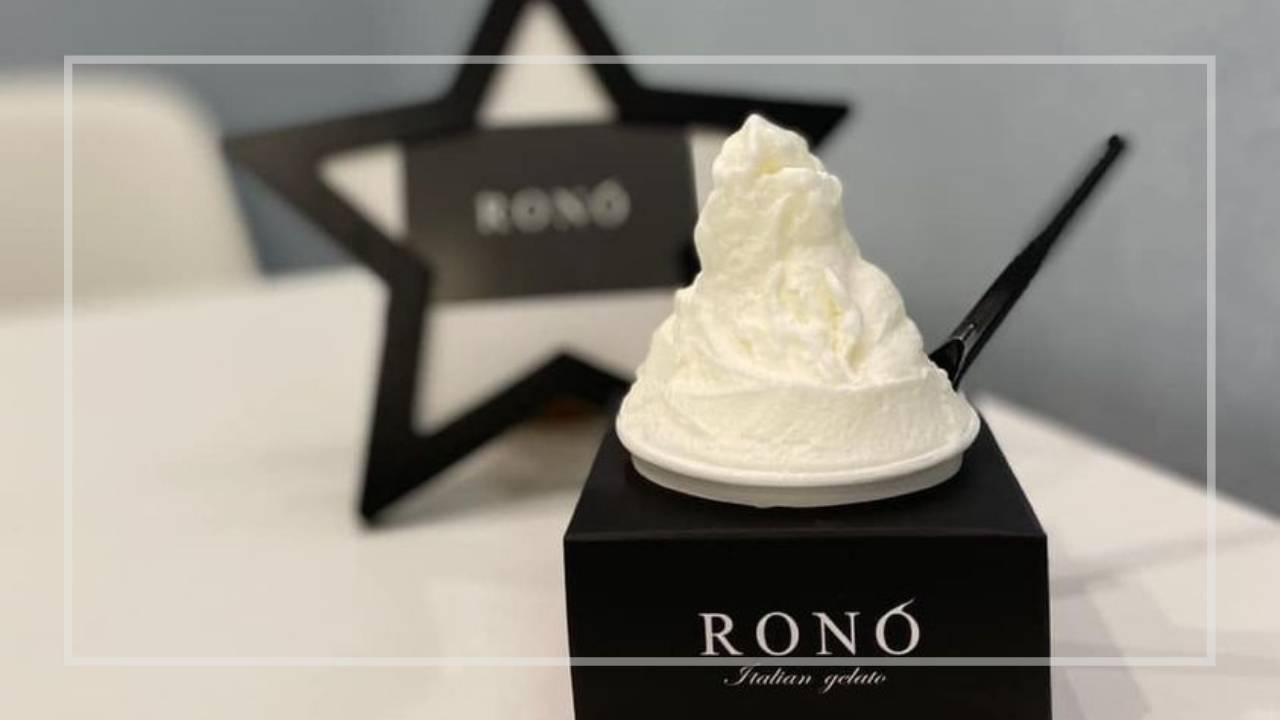 イタリアンジェラート専門店「RONO」とコラボしたオリジナルジェラート